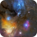 Mosaic View Of Region Between Antares And Rho Ophiuchi!,                                Mohammad Nouroozi