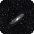 M31 with old tamron 55 - 200mm @ 200mm F5.6,                                Christiaan Berger