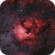 NGC 7000 - Widefield 105mm,                                Gernot_Obertaxer