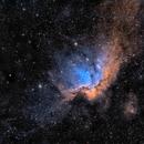 NGC7380 en SHO,                                Georges