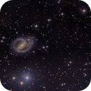NGC-1097 from Public Pool created by Richard Muhlack,                                Miles Zhou