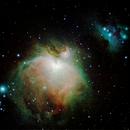 M42 - The Orion Nebula and Running Man Nebula,                                Stuart Buchanan