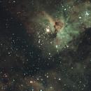 Carina Nebula - First Light QHY183C,                                Paul Wilcox (UniversalVoyeur)