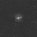 NGC7023 Testaufnahme ohne Autoguiding,                                Benjamin Grundmann