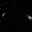 M81 et M82,                                Laurent
