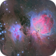 The Orion and Running Man Nebula in LNbRGB,                                Cfosterstars