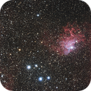 [Neb] IC405 (Nébuleuse de l'Etoile Flambloyante) @Calern,                                Raypulsif