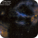 NGC 7635 the Bubble and Sharpless 157 the Lobster Claw  SHO,                                Paul Borchardt