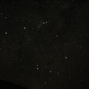 Queue du Scorpion et Fausse comète tels que visibles à l'oeil nu.,                                PHeinz
