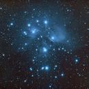 M45 - The Pleiades,                                Bradicus
