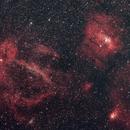 Bubble Nebula and Surrounding Area NGC 7635, 7510, 7654, 7538, Sharpless 157,                                Richard Vanderbeek