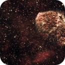 Crescent Nebula in Synthetic RGB,                                Frank Kane