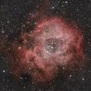 Rosette Nebula in Monoceros,                                Keith Lisk
