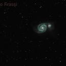 The Whirlpool Galaxy: M51,                                Roberto Frassi