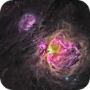 Orion Nebula (Messier 42) Narrow Band HDR,                                Miles Zhou