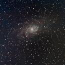 M33, Triangulum galaxy,                                nhw512