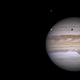 Jupiter with Europa, Callisto and Io: 2019-05-18,                                Darren (DMach)