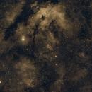 NGC6910: a 300sec PHD2 guided Ha narrowband approach by AZ-GTi,                                Stefano Zamblera