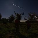 Time-Laps eclipse de Lune,                                JLem@ire