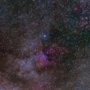 Deneb (Cygnus α) Region at 35 mm Untracked (Cropped),                                Antonis Karousis