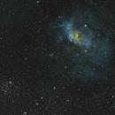 NGC7635 Bubble Nebula in SHO,                                Jeff Kraehnke