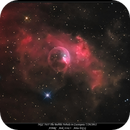 NGC 7635 The Bubble Nebula in Cassiopeia 7/29/2012,                                rigel123