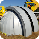 My new but used 10 foot Aluminum Observadome,                                Justin Daniel