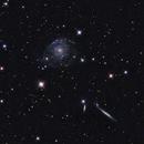 NGC 2805, NGC 2820, NGC 2814, IC 2458,                                Ron Stanley