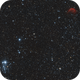 NGC 457 / The Owl Cluster & SH2-188 / The Dolphin Nebula,                                Marc Verhoeven