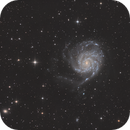 M101 Pinwheel Galaxy,                                Matthieu Martin