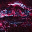 Veil nebula,                                Péter Feltóti