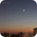 Venus, the moon and Spica, Sep. 8, 2013,                                Ofer Gabzo