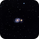 M51, Whirlpool Galaxy,                                Lawrence Longfellow