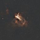 M17 Omega Nebula aka Swan Nebula,                                AstroJoeHSV