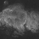 IC 1848 - The Soul Nebula in Hydrogen Alpha,                                Doug Lozen
