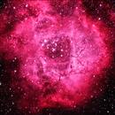 The Roset Nebula in false color,                                Alvise Dorigo