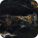 Pickering's Triangle Region in SHO with RGB Stars,                                Josh Woodward