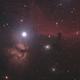 Horsehead and Flame Nebulae in Orion,                                raulgh