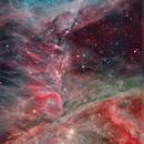 M42 (Dati Spitzer),                                Gianluca Belgrado