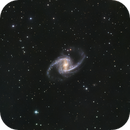 NGC 1365 Great Barred Spiral Galaxy in Fornax,                                Kevin Osborn