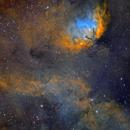 SH2-101 Tulip Nebula,                                Frank Iwaszkiewicz