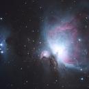 M42 - Orion nebula,                                Miroslav Horvat