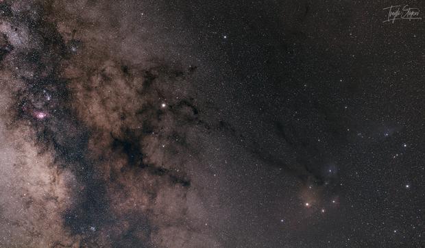 RHO Region and Saturn,                                Ivaylo Stoynov