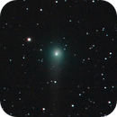 Comet C/2017 T2 (PANSTARRS) visiting Bode's (M 81) and Cigar (M 82) Galaxies @ 21-05-2020,                                Thilo