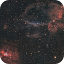 NGC 7635 (Bubble) and SH2-157,                                Andre van der Hoeven