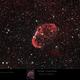 NGC6888 - Crescent Nebula in Hα and OIII,                                Uwe Deutermann