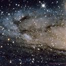 NGC 206 - Open Star Cluster in the Andromeda Galaxy (M31),                                astrobillbinMontana