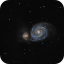 M51 (pure RGB) - LBV 2019 ABN clearly visible,                                Rodolphe Goldsztejn