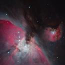 Orion Nebula from Telescope Live,                                Mauricio Christiano de Souza
