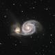 M51 The Whirlpool Galaxy,                                Dave B